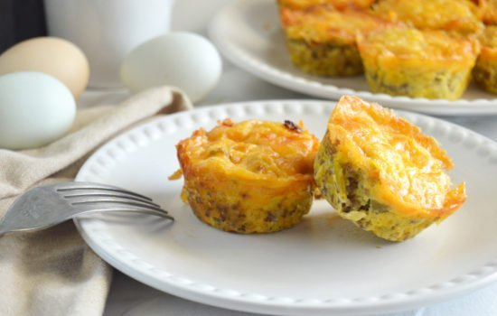 Sausage Green Chile Egg Muffins